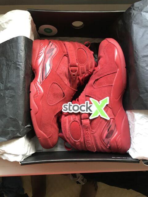 Nike Air Jordan 8 Valentine Day Gym Red