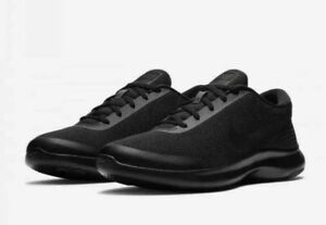 62e39a133f844 Nike Flex Experience RN 7 Mens Running Shoes Sneakers BLACK sz 11 4E ...