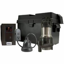 Ion 35aci Battery Backup Sump Pump System 3000 Gph 10