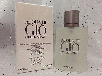 Acqua Di Gio  3.4 Oz. Men SPRAY EDT COLOGNE **NEW IN BOX** GIORGIO ARMANI