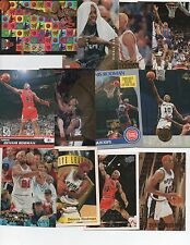 DENNIS RODMAN -  ( 12 CARD LOT )  12 DIFFERENT CARDS w/INSERTS