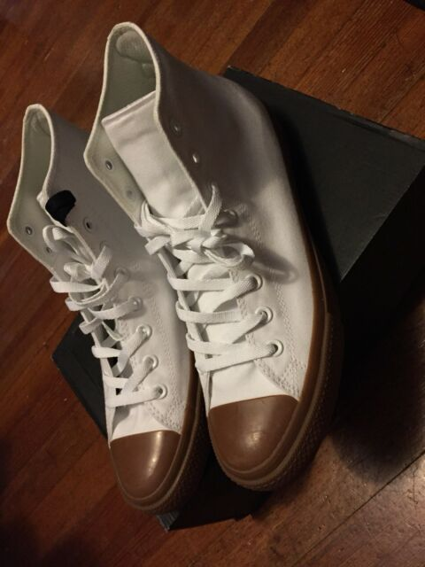 affb01f9a8d NEW Converse All Star CTAS II Chuck Taylor 2 Hi Size 11 155497C White Gum  Pack