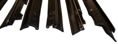 belt line molding 1980-1989 Cadillac Fleetwood Brougham 4 dr window sweep seals