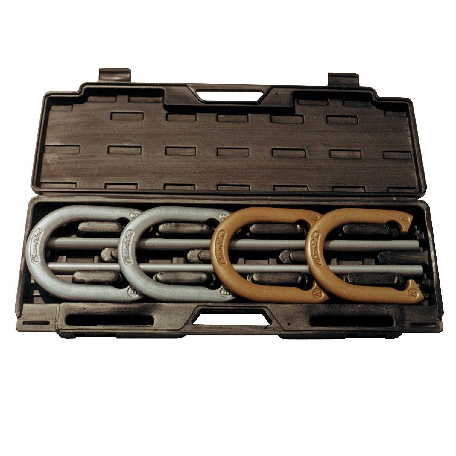 Champion Sports Steel Horseshoe Set Play an Authentic Game Of  Horseshoe IHS100  order now