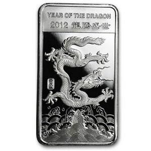 Usa Jahr Des Drachen Year Of The Dragon 1 2 0 5 Oz 2012
