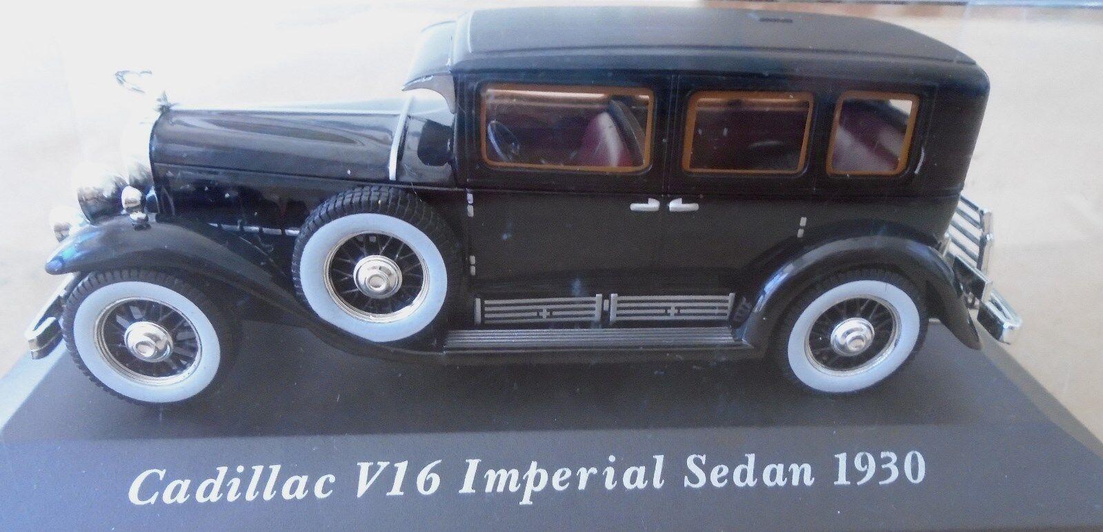 Altaya Classic 1 43 Al Capone's 1930 V-16 ILLAC Imperial Sedan NEUF