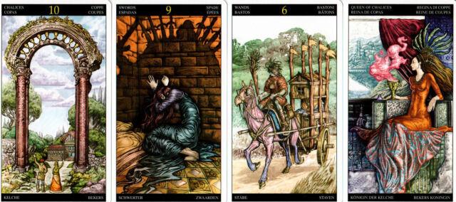 Fantasy Universal Tarot mit Weissagungsanleitung - NEU OVP - Sammler