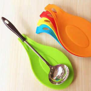 Kitchen-Utensil-Spatula-Tool-Spoon-Mat-Kitchen-Gadget-Dish-Holder-Silicone-Pad