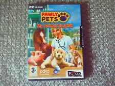 PC PAWLY PETS MY ANIMAL HOSPITAL UBISOFT 2006 3+ NEW AND SEALED  BE A VETERINARI