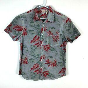Deus-Ex-Machina-Short-Sleeve-Casual-Shirt-Size-Men-039-s-Medium