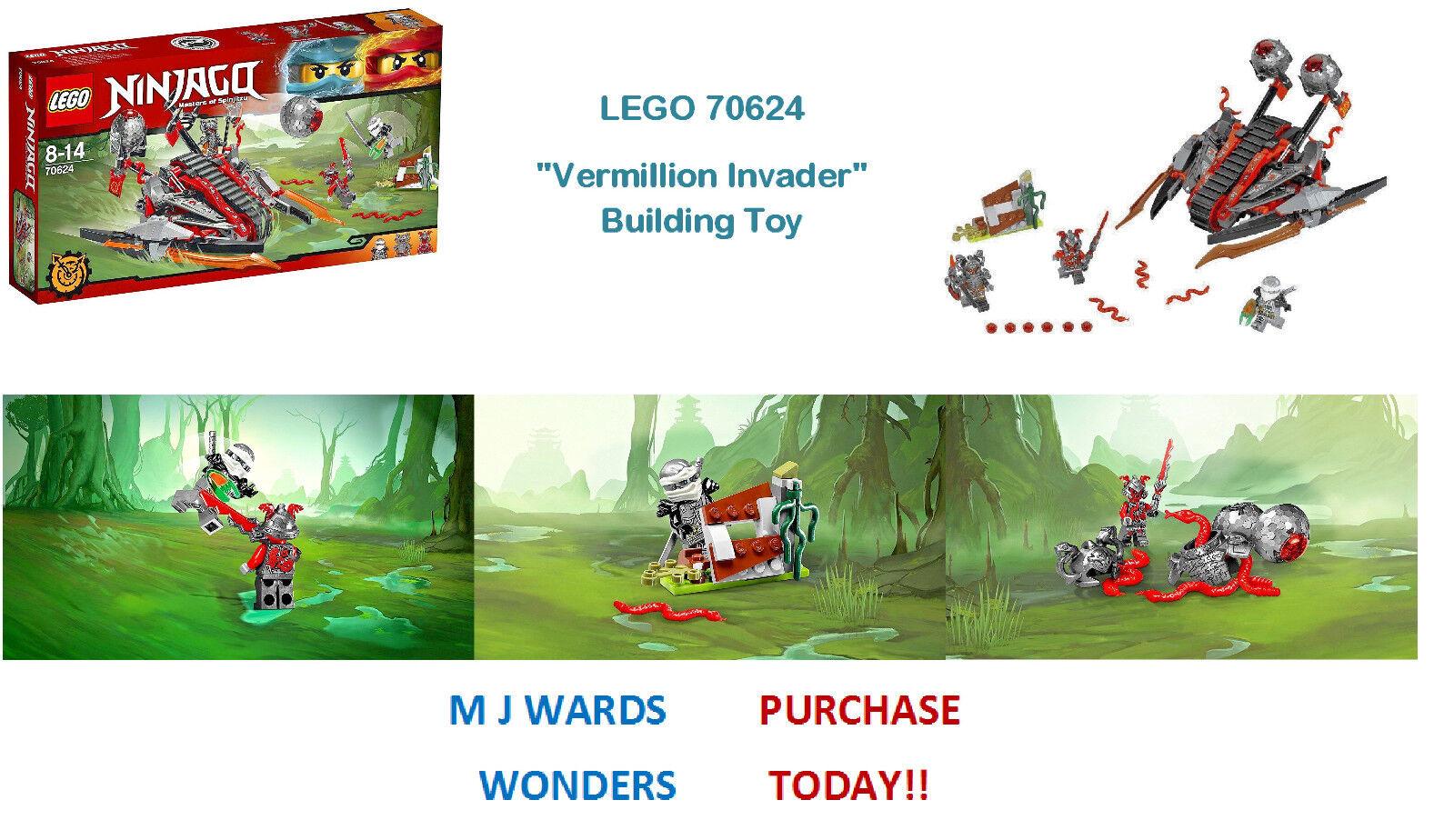 LEGO 70624  Vermillion Invader  Building Toy