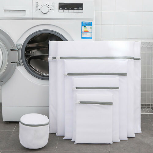 1pc Laundry Bag Net Mesh Wash Bag For Lingerie Bras Underwear Organizer Pouch