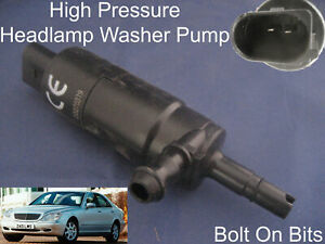 Headlamp-Headlight-Washer-Spray-Cleaning-Pump-Mercedes-S-Class-1998-to-2005