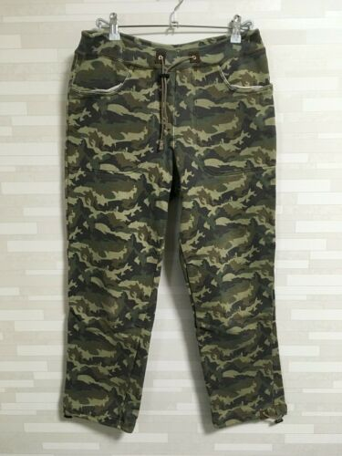 Beams Plus camouflage jogger pants sweat trousers