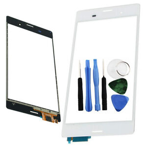 Blanco-Digitalizador-de-pantalla-tactil-Reparacion-Herramientas-Para-Sony-Xperia-Z3-d6603-d6643