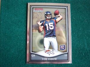 Details About 2010 Bowman Chrome Tim Tebow Rookie Card Mint See Photos