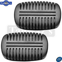 47-55 Chevy Gmc Pick Up Pickup Truck Brake Or Clutch Pedal Rubber Pad - Pair