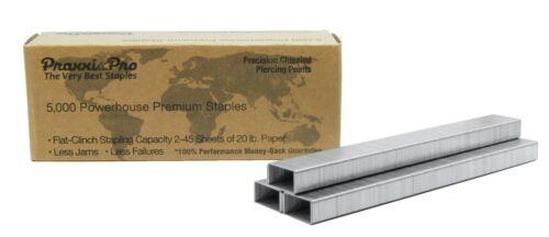 PraxxisPro Powerhouse Premium Heavy Duty Staples...