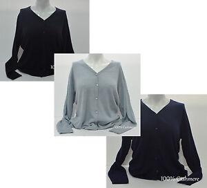 Ladies-Cashmere-Cardigans-Sweater-100-Pashmina-Girl-039-s-Womens-Jumper-Cardigans