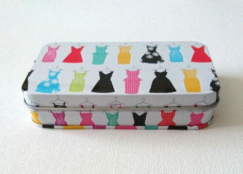SOUL TISSUE TIN Bright Dresses 10 POCKET TISSUES INSIDE Modern Gift Range LMXT06