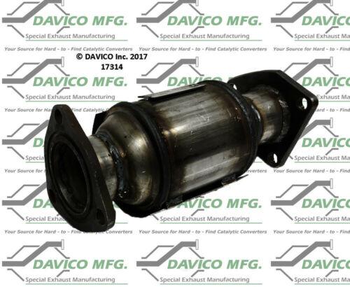 Catalytic Converter-Exact-Fit Rear Davico Exc CA 17314