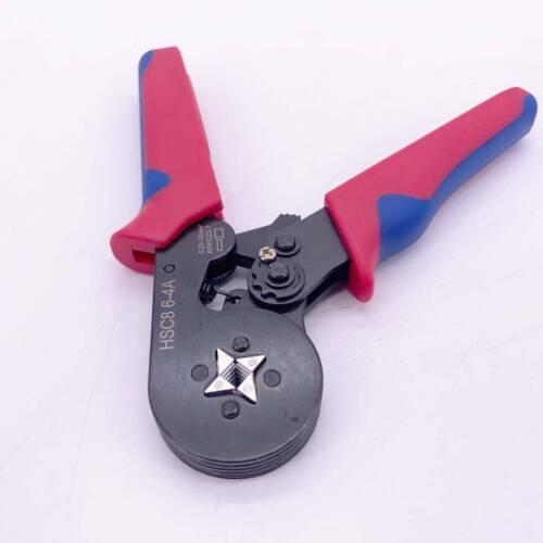 Terminal Crimping Tool Self-Adjusting Ratchet Wire Crimping Plier 0.25-10.0mm²