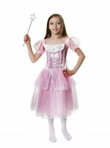 GIRLS-FANCY-DRESS-COSTUME-OUTFIT-PINK-PRINCESS-BNWT