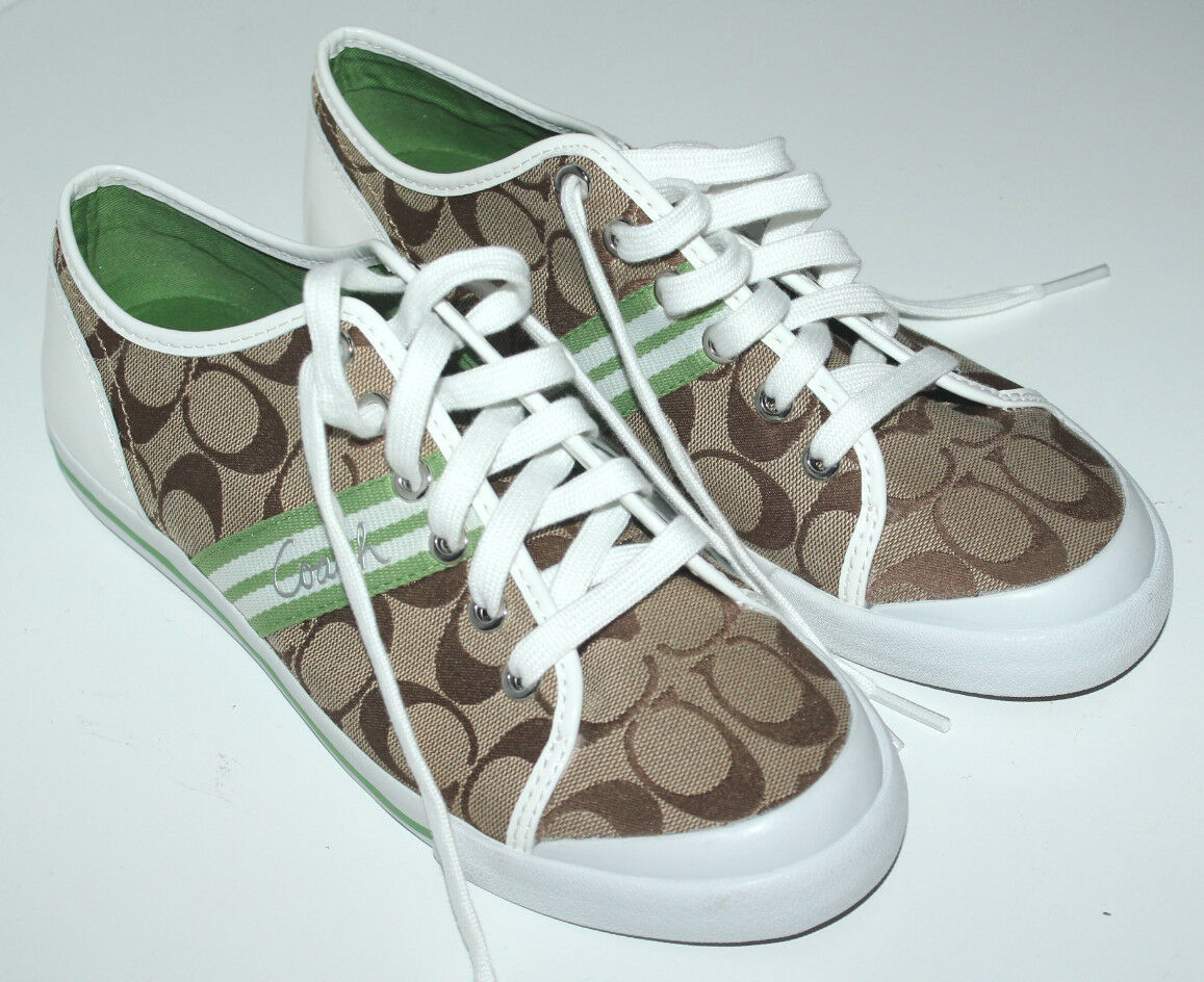 Entrenador Firma locura Tenis Zapatos Zapatos Zapatos De Mujer Talla 8.5 Jacquard Color Caqui  precios mas baratos