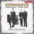 Erich Wolfgang Korngold: String Sextet; Piano Quintet (CD, Jan-2012, Chandos)