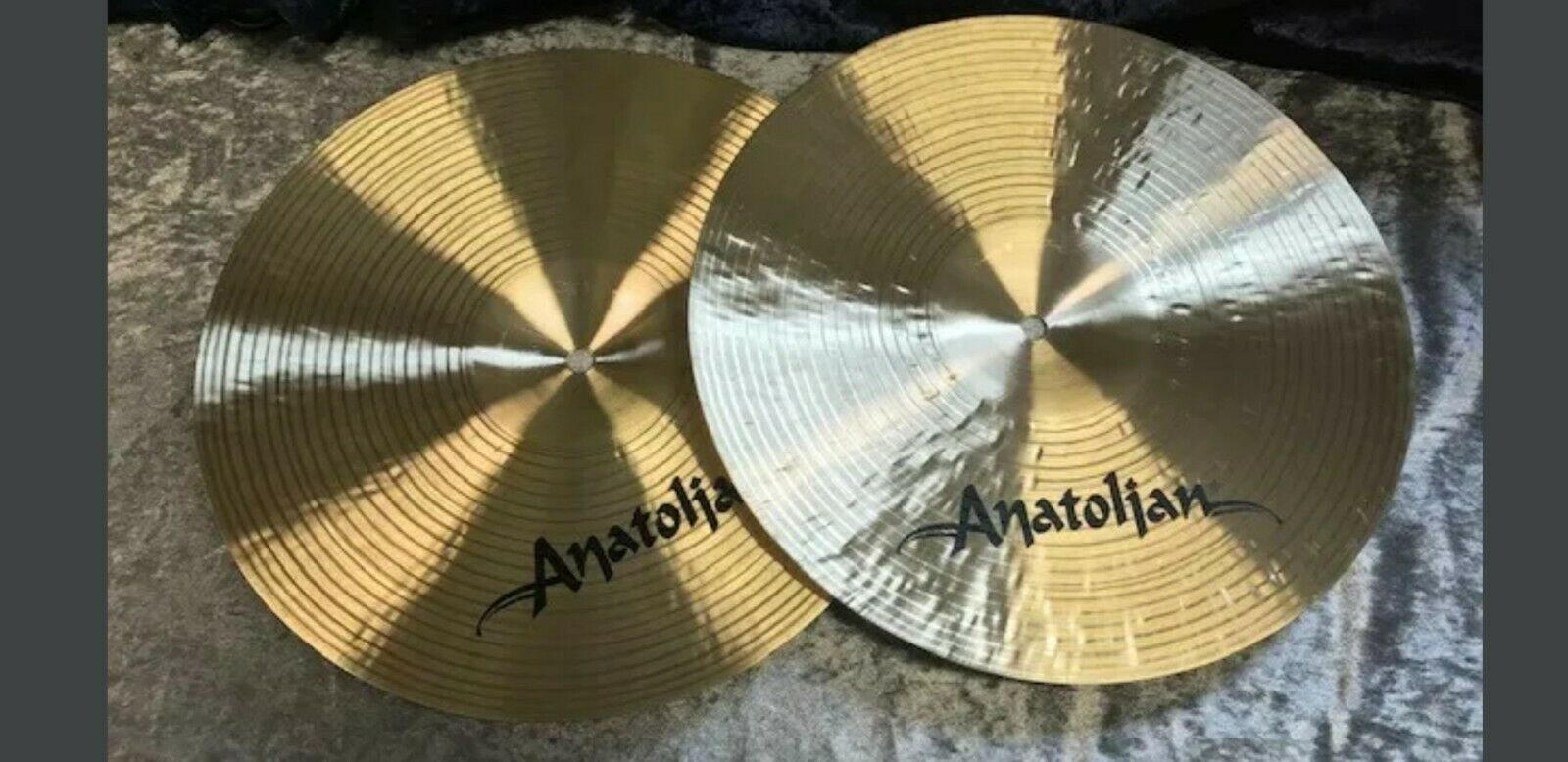 Anatolian Hihat 14  Traditional serie Rock