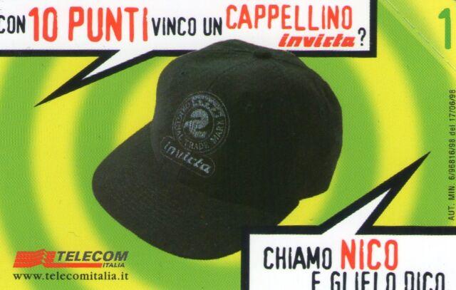 NUOVA MAGNETIZZATA GOLDEN 881 (C&C 2925) LA 10 VINCE - CAPPELLINO INVICTA CHIEDI