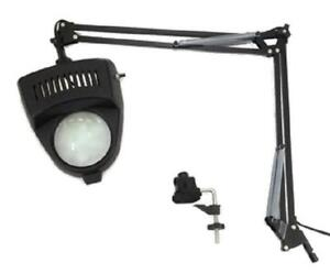 Clamp-on-Swing-Arm-Lighted-Magnifying-Lamp-Hobby-Work-Desk-Table-Lamp-Magnifier