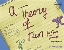Theory of Fun for Game Design by Raph Koster (2004, Paperback)