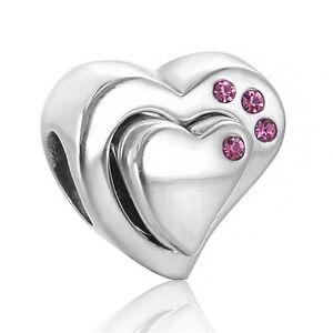 Silver-Heart-Charm-Bead-Love-Jewellery