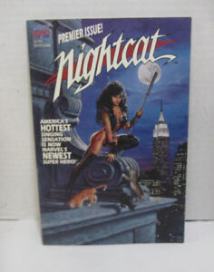 Marvel-Comics-Nightcat-Premiere-Issue-1991-First-Print-Graphic-Novel-Stan-Lee