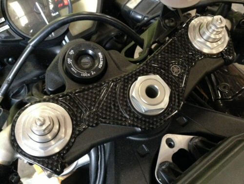 Carbon Fibre Effect Yoke Cover to fit Yamaha YZF R1 2009-20011