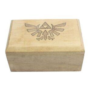Details About Legend Of Zelda Woodburned Dd Wood Polyhedral Dice Set Storage Box By Geekwood