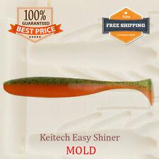 ?? Keitech Easy Shiner Bait Mold Shad Swimbait Soft Plastic Lure 38-88 mm
