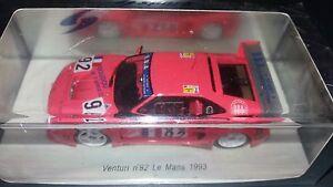 Spark 1/43 Venturi # 92 Le Mans 1993 S2256