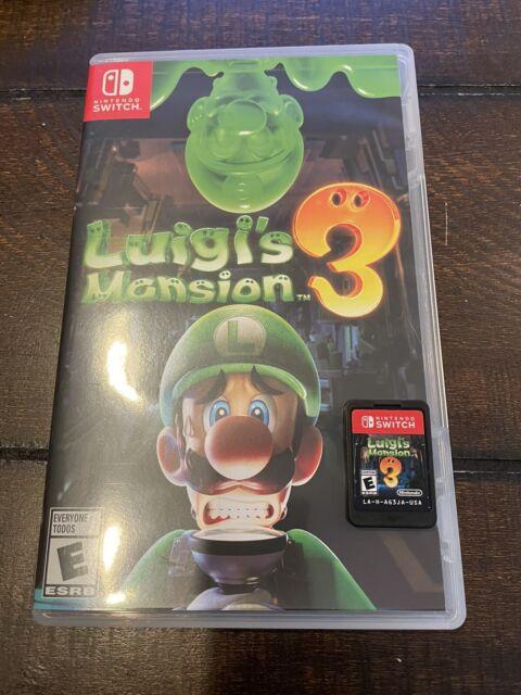 Luigi's Mansion 3 - Nintendo Switch 🔥
