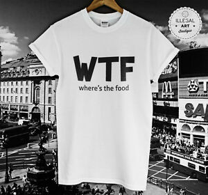 WTF-WHERES-THE-FOOD-TOP-T-SHIRT-HIPSTER-CARA-DELEVINGNE-SWAG-FASHION-HM-UNISEX