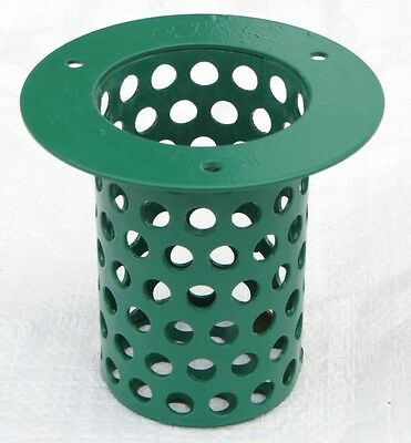 10 X WRIGHT FEEDER ATTACHMENT, GREEN METAL, POULTRY FEEDERS, PHEASANT FEEDERS