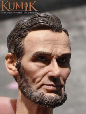 KUMIK 1//6 Male Head Sculpt KM16-61 Head Carving Model Fit12/'/' Body Action Figure