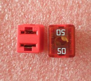 Littelfuse 0895050.Z 895 Square Car Fuse 50A Low Profile JCASE Cartridge Fuses R