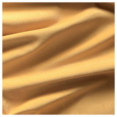 IKEA sanela Golden velours marron assombrissement Chambre Rideaux 140x250cm *