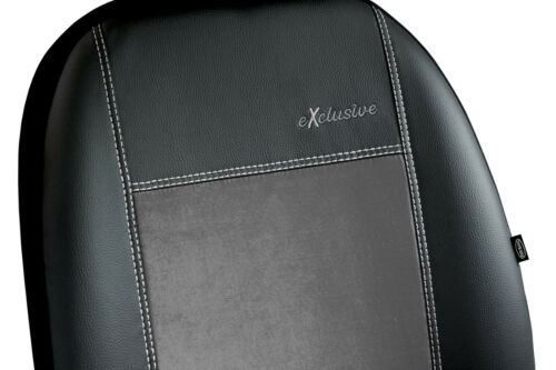 FORD RANGER 2010 ON ARTIFICIAL LEATHER /& ALICANTE FRONT UNIVERSAL SEAT COVERS