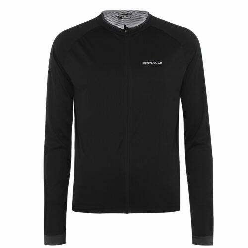 Top Zip Pinnacle Full Length Sleeve Cycling Jersey Mens Gents Cycle