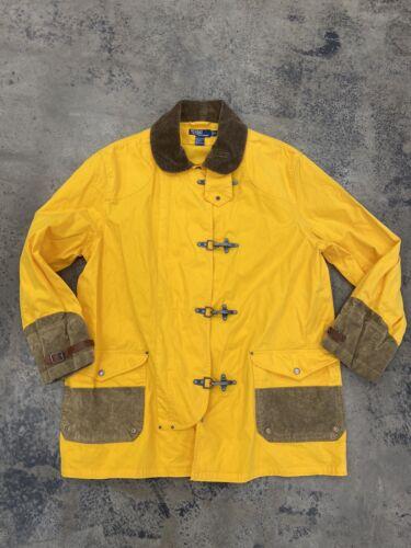 Polo Ralph Lauren Fireman Trench Rain Jacket Coat