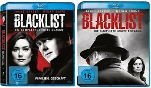 The Blacklist Staffel 5+6 Blu-ray Set NEU OVP