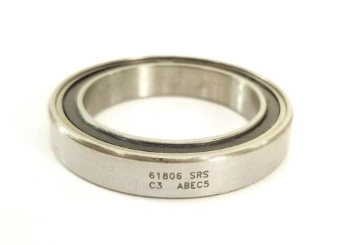 61806 30x42x7 Enduro ABEC-5 Cartridge Bearing
